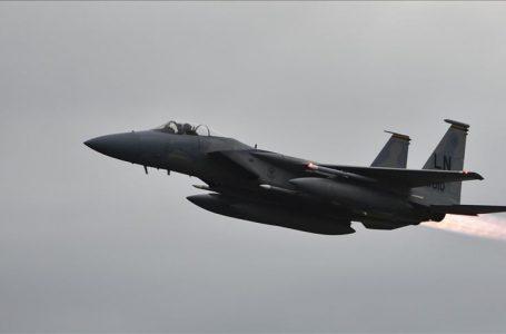 امریکی فوجی جیٹ طیارہ بحیرہ شمال میں گر کر تباہ
