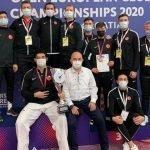 ترکی،نیشنل ٹیک ونڈو ٹیم نے  آٹھویں یورپین چیمپین شپ جیت لی